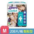 麗貝樂 嬰兒紙尿褲4號-M (26片x8...