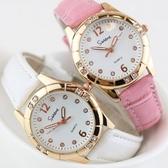 手錶時尚潮流正韓簡約休閒新品手錶女中學生小錶盤防水超薄石英錶 快速出貨