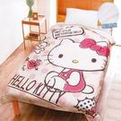 小禮堂 Hello Kitty 雙人涼感被 5x6尺 (粉點點款) 4711737-53709