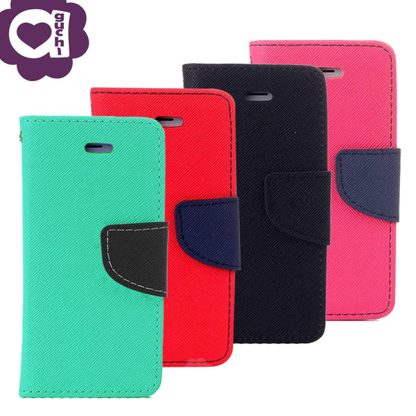 Samsung Galaxy J7 Pro 馬卡龍雙色側掀手機皮套 磁吸扣帶 支架式皮套 綠紅黑桃多色可選