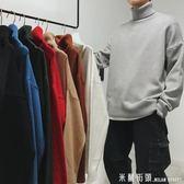 毛衣男 2018新款冬季加厚高領針織衫韓版毛衣男士潮流長袖打底ins超火的 米蘭街頭