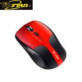 T.C.STAR 連鈺 TCN645RD 2.4G無線藍光滑鼠 (紅)