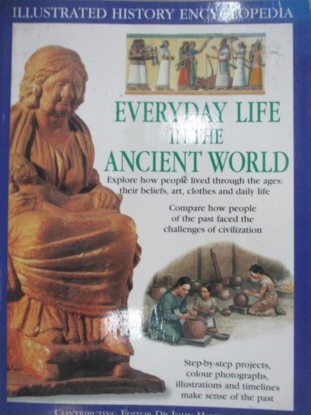 【書寶二手書T1/兒童文學_KJO】Everyday Life in the Ancient World_Haywood, John (EDT)