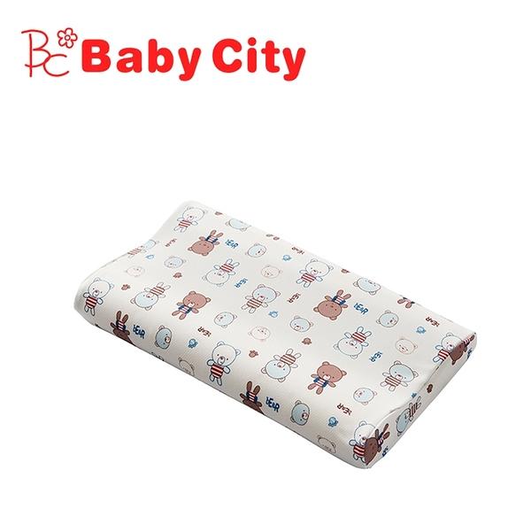 【愛吾兒】娃娃城 Baby City 導濕快乾記憶枕-小熊(L)3歲以上適用
