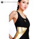 義大利DIANA成人時尚連身泳裝金色-R110001