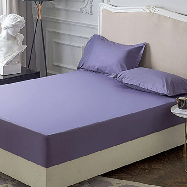 《 枕套2件》100%防水 吸濕排汗 枕套保潔墊 MIT台灣製造【靚紫】