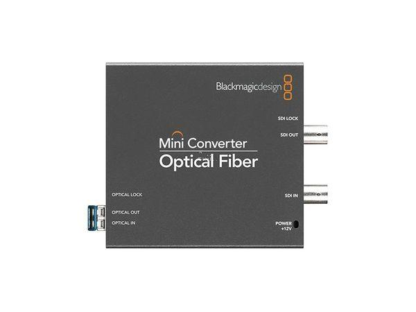【聖影數位】BlackMagic Design 專業 Mini Converter Optical Fiber 迷您光纖轉換器 新記公司貨 特價 7500
