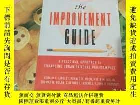 二手書博民逛書店The罕見Improvement Guide: A Practi