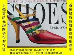二手書博民逛書店Shoes(A罕見Celebration Of Pumps, Sandals, Slippers & More)奇