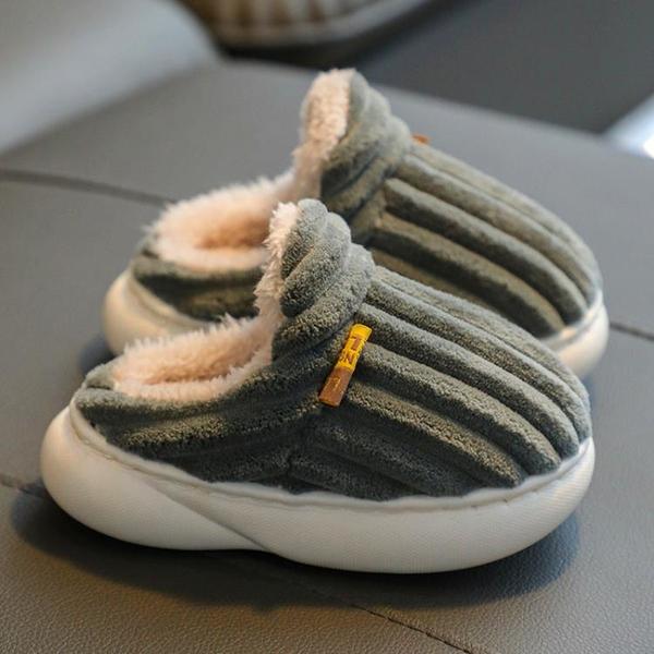 寶寶棉拖鞋嬰幼兒秋冬季一歲半男女童室內家用小孩子春款兒童棉鞋 格蘭小鋪