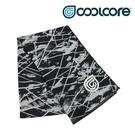 COOLCORE CHILL SPORT 涼感運動巾 黑色刻痕 BLACK SCRATCH (涼感運動毛巾、降溫、運動、運動巾)