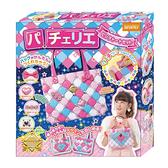 時尚巧拼包-粉紅托特包