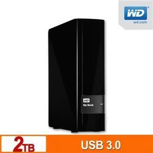 【台中平價鋪】全新 WD My Book 2TB 3.5吋USB3.0外接硬碟 3年保固