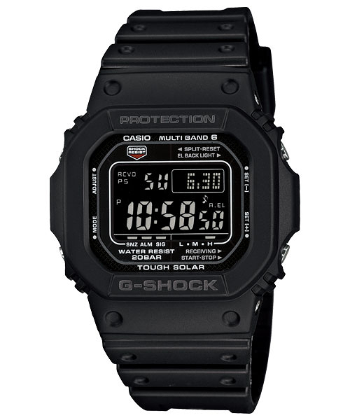 【CASIO宏崑時計】CASIO卡西歐G-SHOCK電波運動錶GW-M5610-1B分期零利率 台灣卡西歐保固一年