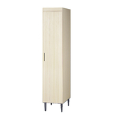 【YFS】衛威恩1.3尺雪松衣櫃-40x56x193cm