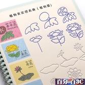 兒童凹槽簡筆畫練字帖幼兒園學前班基礎學畫畫本寶寶畫畫字帖臨摹板反復使用 百分百