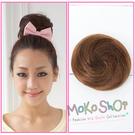 *MoKo ShOp*第二代拉繩調節扣式道姑丸子頭包子髮包髮束髮髻【LYFHH】