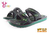 GP拖鞋 男款 休閒涉水拖鞋 O8909#綠色◆OSOME奧森童鞋