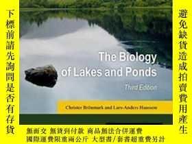 二手書博民逛書店The罕見Biology Of Lakes And Ponds
