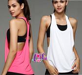 得來福,B70運動衣工字大露背專業運動速乾排汗瑜珈慢跑服衣,單上衣售價349元