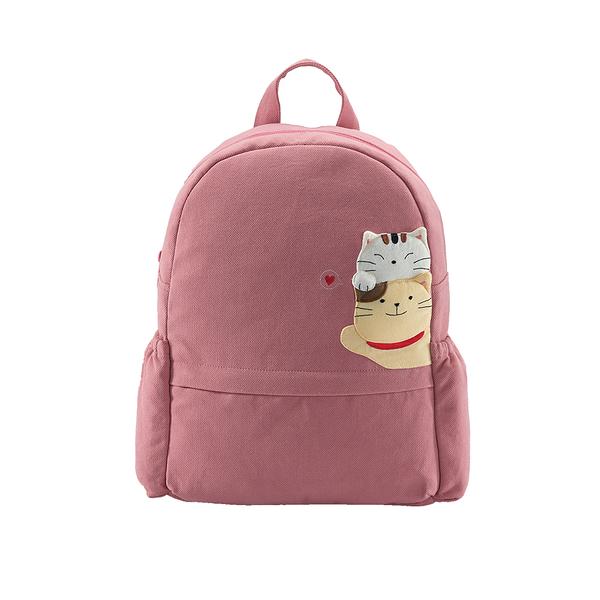 愛的抱抱後背包-乾燥玫瑰/手提包/拼布包包