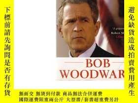 二手書博民逛書店BUSH罕見AT WAR BOB WOODWARD 【書內裂開】