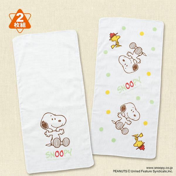日本製西松屋 男&女寶寶 長條紗布巾洗澡巾 史奴比【NI200215073000】