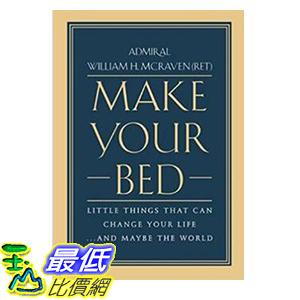 [106美國直購] 2017美國暢銷書 Make Your Bed:Little Things That Can Change Your Life...And Maybe the World