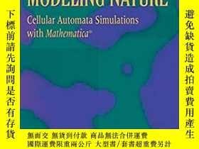 二手書博民逛書店美國原版罕見Modeling Nature: Cellular