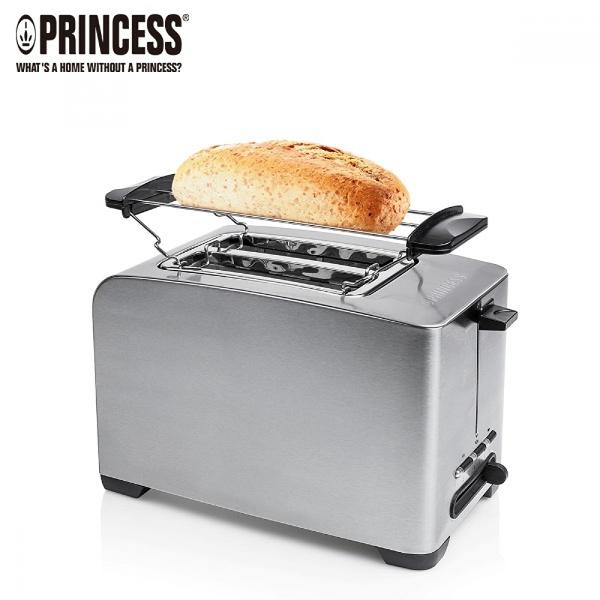 【PRINCESS|荷蘭公主】不鏽鋼多功能烤麵包機 142356