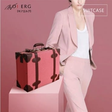 Old Time迷戀舊時光combi suitcase (M-14吋) Pink