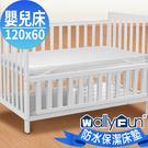 WallyFun 嬰兒床用100%防水保...