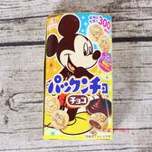 森永_米奇巧克力夾心餅47g【0216零食團購】4902888107610