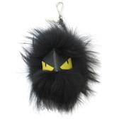 FENDI Black Monster 小怪物吊飾 【二手名牌 BRAND OFF】