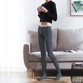 絲襪80D長絲襪連褲襪防勾絲肉灰黑色打底襪子女士春秋冬薄款連腳九分