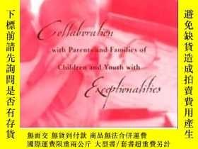 二手書博民逛書店Collaboration罕見With Parents And Families Of Children And