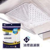 12片裝 油煙機防油污過濾紙 無紡布吸油過濾膜