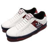 Royal Elastics 休閒鞋 Icon 白 紅 無鞋帶設計 皮革鞋面 運動鞋 女鞋【PUMP306】 92073015