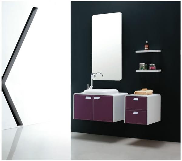 【麗室衛浴】國產高級 防水發泡板浴櫃 浪漫紫羅蘭 I-2919 目錄及施工步驟
