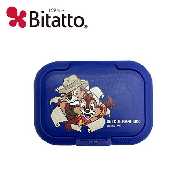 【日本正版】奇奇蒂蒂 濕紙巾蓋 日本製 濕紙巾盒蓋 重複黏 迪士尼 Bitatto - 288581