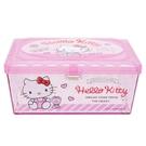 【震撼精品百貨】Hello Kitty 凱蒂貓~凱蒂貓 HELLO KITTY 透明壓克力置物盒#47260