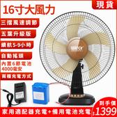 風扇 【太陽能供電/停電可用】12V太陽能充電 直流無刷 戶外便攜 DC頭充電風扇燈 帶USB接口