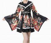 【熊貓】服裝演出服改良振袖和服女仆裝