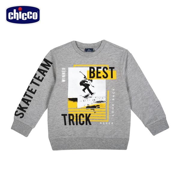 chicco-To Be B-花紗滑冰長袖上衣