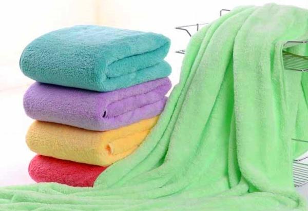 滿額免運【ZA300】現貨 300克珊瑚絨浴巾 大浴巾 獨立包裝 雙面 珊瑚絨 70*140 浴巾