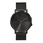 【FILA 斐樂】極簡風設計腕錶-個性黑/38-173-002/台灣總代理公司貨享兩年保固