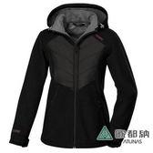 《歐都納 ATUNS》女 Windstopper 防風保暖外套 『黑』G1561W