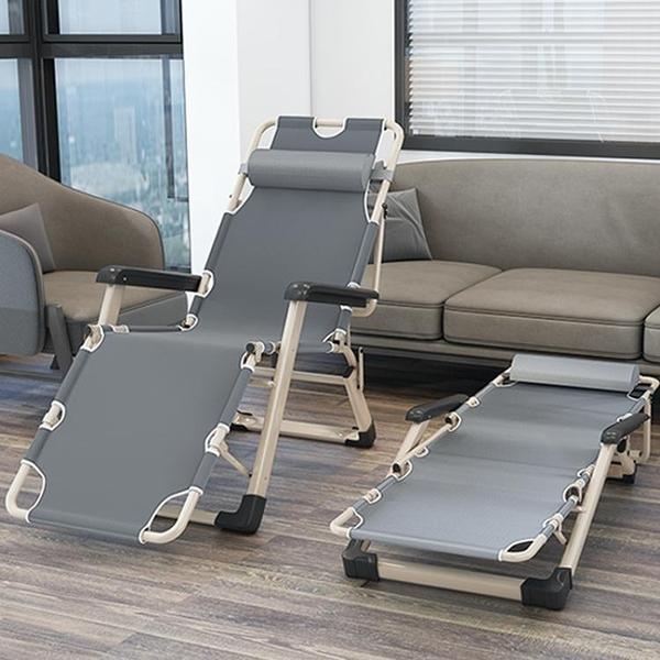 摺疊床 摺疊床單人午休簡易午睡家用便攜辦公室神器行軍醫院陪YJT 暖心生活館