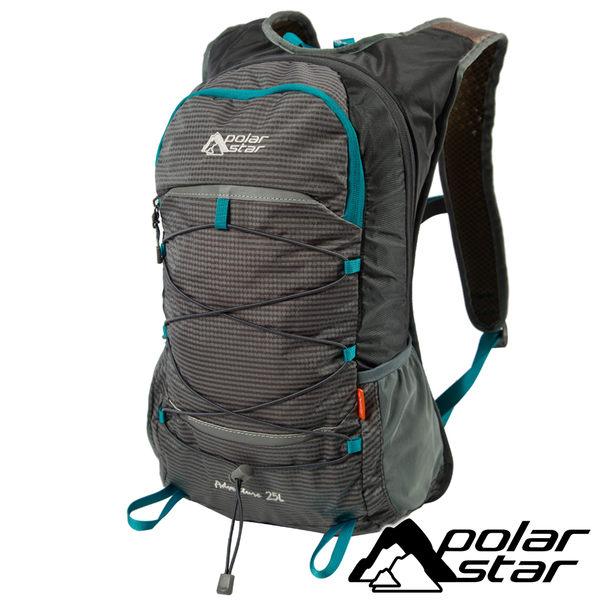 【PolarStar】休閒背包25L『灰』露營.戶外.旅遊.自助旅行.多隔間.登山背包.後背包.肩背包 P17803