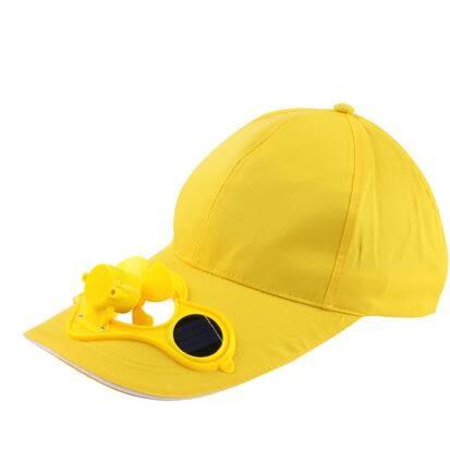 太阳能带风扇帽子 夏天户外成人男女旅游遮阳帽钓鱼防曬帽棒球帽 童趣潮品